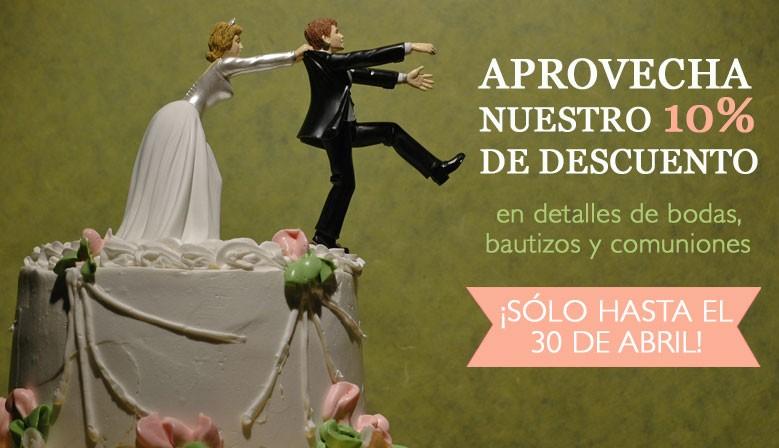 Descuentos bodas